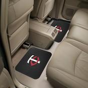 MLB - Minnesota Twins Backseat Utility Mats 2 Pack 14x17