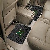 MLB - Oakland Athletics Backseat Utility Mats 2 Pack 14x17