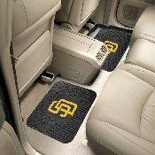 MLB - San Diego Padres Backseat Utility Mats 2 Pack 14x17