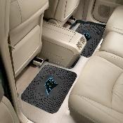 NFL - Carolina Panthers Backseat Utility Mats 2 Pack 14x17