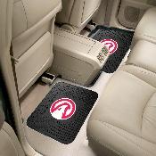 NBA - Atlanta Hawks Backseat Utility Mats 2 Pack 14x17