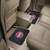 NBA - Detroit Pistons Backseat Utility Mats 2 Pack 14x17