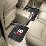 NBA - Philadelphia 76ers Backseat Utility Mats 2 Pack 14x17