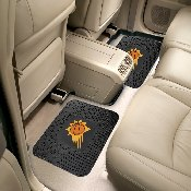 NBA - Phoenix Suns Backseat Utility Mats 2 Pack 14x17