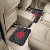 NBA - Toronto Raptors Backseat Utility Mats 2 Pack 14x17