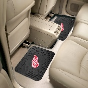 NHL - Detroit Red Wings Backseat Utility Mats 2 Pack 14x17