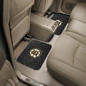 NHL - Boston Bruins Backseat Utility Mats 2 Pack 14x17