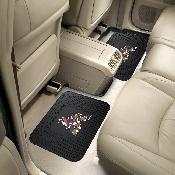 NHL - Arizona Coyotes Backseat Utility Mats 2 Pack 14x17