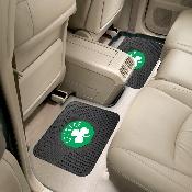 NBA - Boston Celtics Backseat Utility Mats 2 Pack 14x17