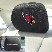 NFL - Arizona Cardinals Head Rest Cover 10Inchx13Inch - 2 Pcs Per Set