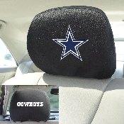 NFL - Dallas Cowboys Head Rest Cover 10