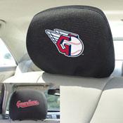 MLB - Cleveland Indians Head Rest Cover 10Inchx13Inch - 2 Pcs Per Set