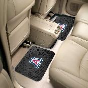 Arizona Backseat Utility Mats 2 Pack 14x17