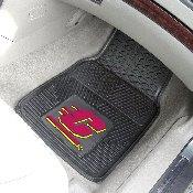 Central Michigan 2-pc Vinyl Car Mat Set