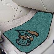 Coastal Carolina 2-piece Carpeted Car Mats 17x27