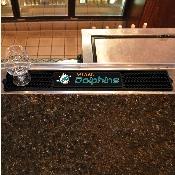 NFL - Miami Dolphins Drink Mat 3.25x24