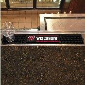 Wisconsin Drink Mat 3.25x24