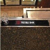 Texas A&M Drink Mat 3.25x24