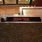 Texas Tech Drink Mat 3.25x24