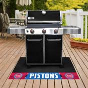 NBA - Detroit Pistons Grill Mat 26x42