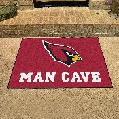 NFL - Arizona Cardinals Man Cave All-Star Mat 33.75x42.5