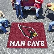 NFL - Arizona Cardinals Man Cave Tailgater Rug 5'x6'