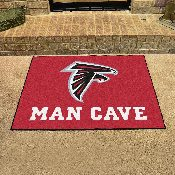 NFL - Atlanta Falcons Man Cave All-Star Mat 33.75x42.5
