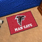 NFL - Atlanta Falcons Man Cave Starter Rug 19x30