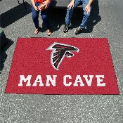 NFL - Atlanta Falcons Man Cave UltiMat Rug 5'x8'
