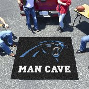 NFL - Carolina Panthers Man Cave Tailgater Rug 5'x6'