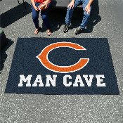 NFL - Chicago Bears Man Cave UltiMat Rug 5'x8'