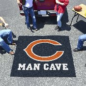 NFL - Chicago Bears Man Cave Tailgater Rug 5'x6'