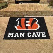 NFL - Cincinnati Bengals Man Cave All-Star Mat 33.75x42.5