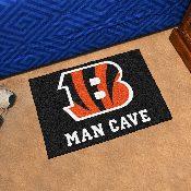 NFL - Cincinnati Bengals Man Cave Starter Rug 19x30