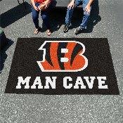 NFL - Cincinnati Bengals Man Cave UltiMat Rug 5'x8'