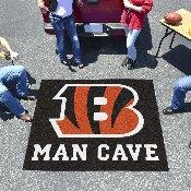 NFL - Cincinnati Bengals Man Cave Tailgater Rug 5'x6'