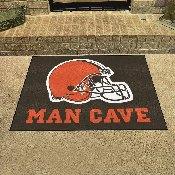 NFL - Cleveland Browns Man Cave All-Star Mat 33.75x42.5