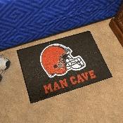 NFL - Cleveland Browns Man Cave Starter Rug 19x30
