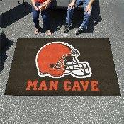NFL - Cleveland Browns Man Cave UltiMat Rug 5'x8'