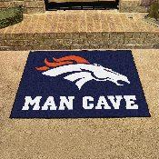 NFL - Denver Broncos Man Cave All-Star Mat 33.75x42.5