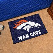 NFL - Denver Broncos Man Cave Starter Rug 19x30
