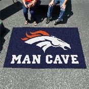 NFL - Denver Broncos Man Cave UltiMat Rug 5'x8'