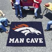 NFL - Denver Broncos Man Cave Tailgater Rug 5'x6'