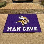 NFL - Minnesota Vikings Man Cave All-Star Mat 33.75x42.5