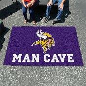 NFL - Minnesota Vikings Man Cave UltiMat Rug 5'x8'