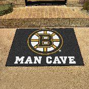 NHL - Boston Bruins Man Cave All-Star Mat 33.75x42.5