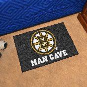 NHL - Boston Bruins Man Cave Starter Rug 19x30