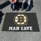 NHL - Boston Bruins Man Cave UltiMat Rug 5'x8'