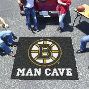 NHL - Boston Bruins Man Cave Tailgater Rug 5'x6'