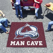 NHL - Colorado Avalanche Man Cave Tailgater Rug 5'x6'